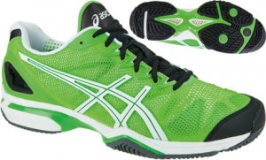 Buty Asics Gel-Solution Speed zielone E200N-7001