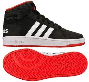 Buty ADIDAS HOOPS Mid 2.0 Junior B75743