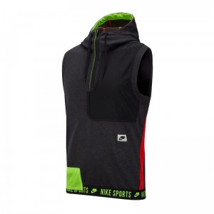 Bezrękawnik NIKE Therma HOODED PX CD5716-010