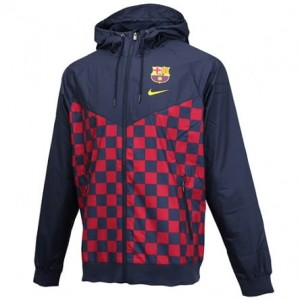 Kurtka NIKE FC BARCELONA Windrunner AT4358-451
