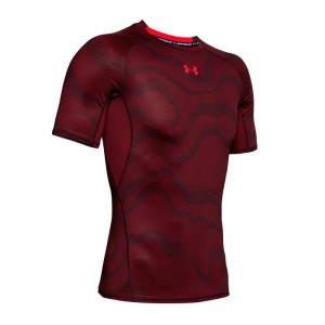 Koszulka UNDER ARMOUR HeatGear Print 1345722-615