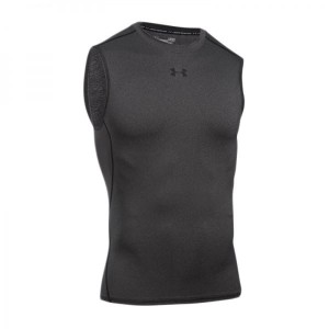 Bezrękawnik UNDER ARMOUR HeatGear Compression 1257469-090
