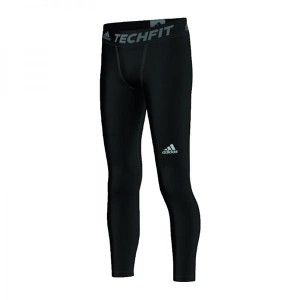 Leginsy ADIDAS TF Base Tights czarne Junior S93067