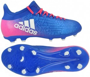 Buty ADIDAS X 16.1 FG Junior Blue BLAST BB5692