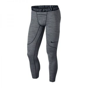 Leginsy NIKE PRO Heather Tight 859455-010